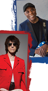 Jeff Beck and Buddy Guy