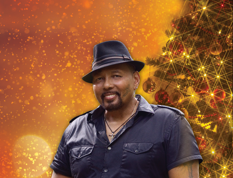 aaron neville rings in the season with his soulful voice