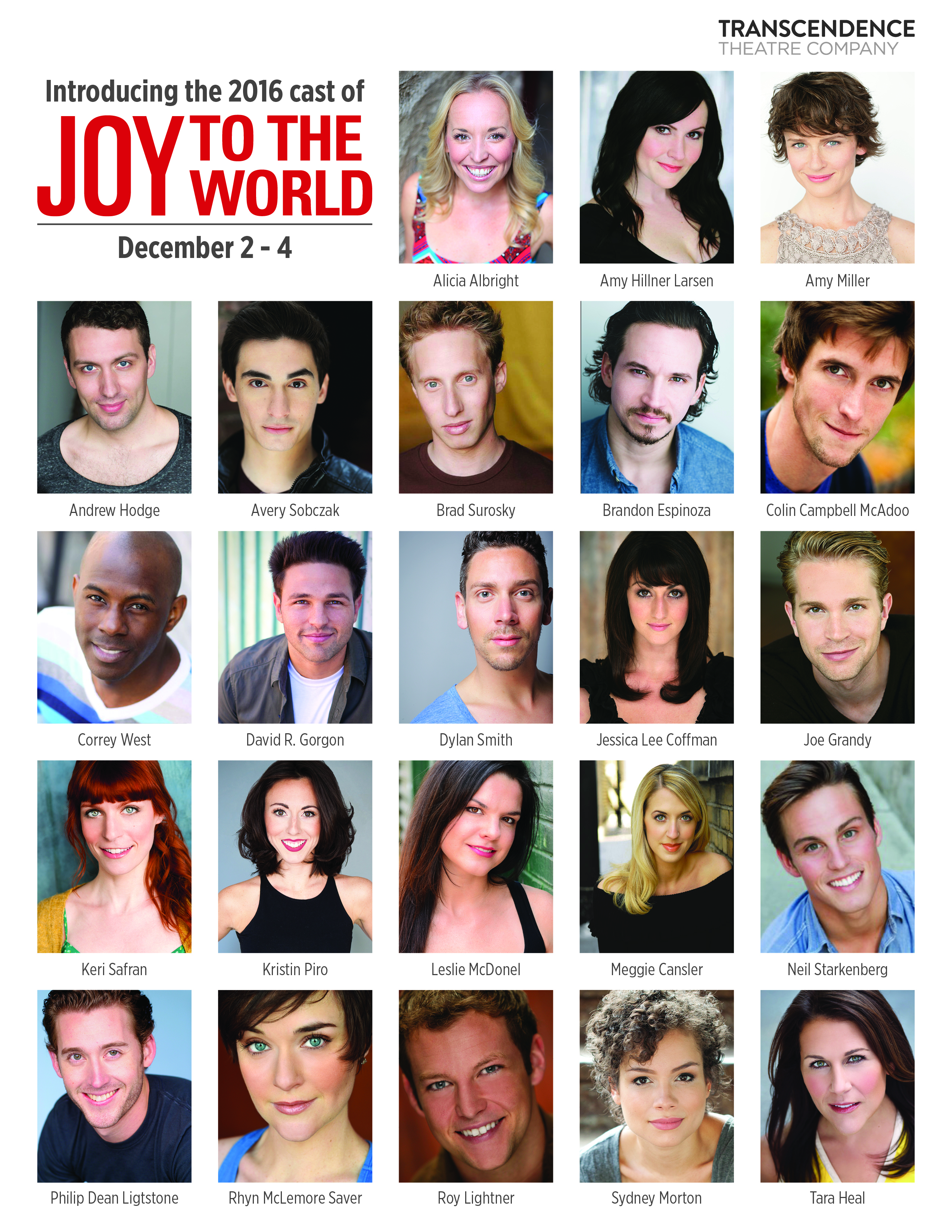 Joy to the World cast