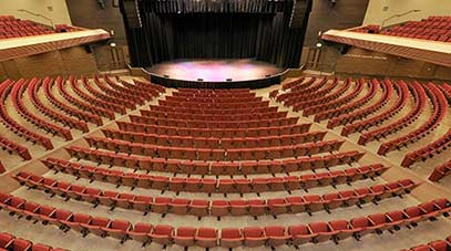 Seating luther burbank center for the arts